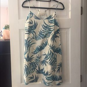 Loft Palm Print Sundress